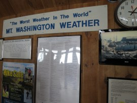 au sommet de Mt Washington
