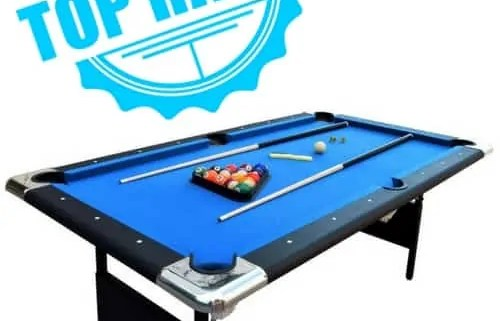 Best Portable Pool Tables Youll Love Number One - Hathaway fairmont pool table