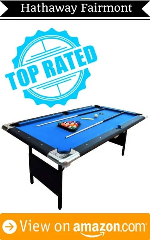 5 best portable pool tables