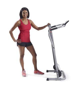 weslo cardiostride folding treadmill