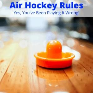 Rules of air hockey