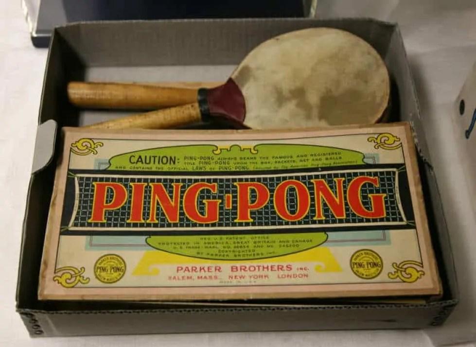 Vintage ping pong set