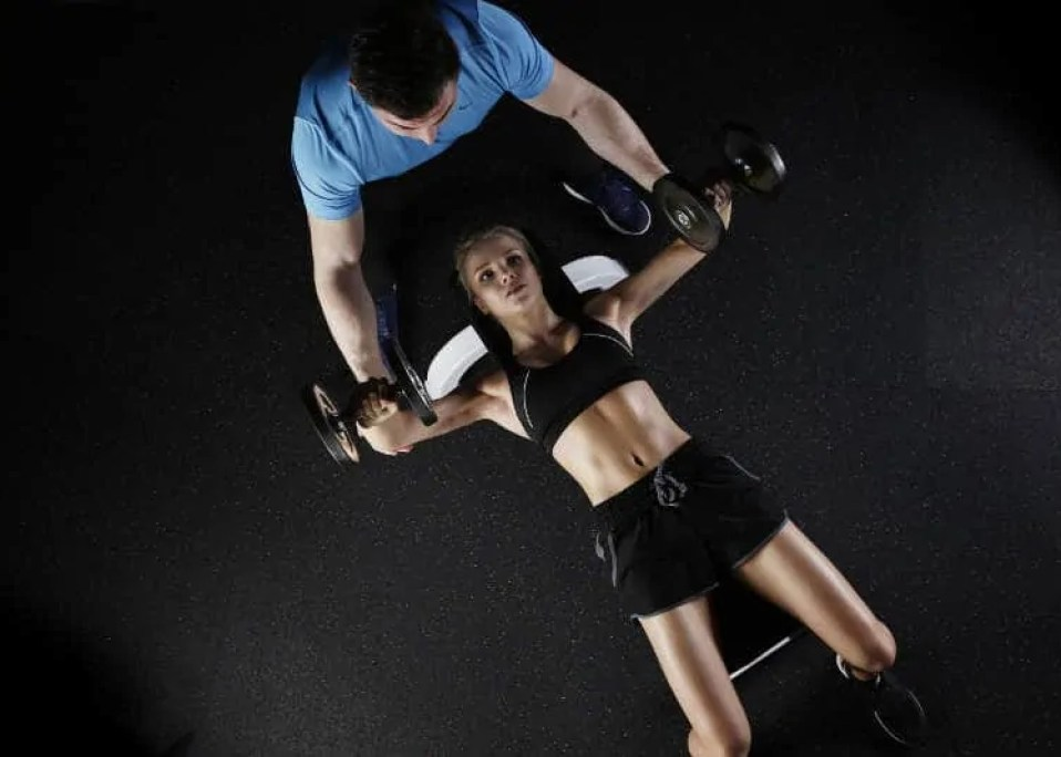 dumbell presses