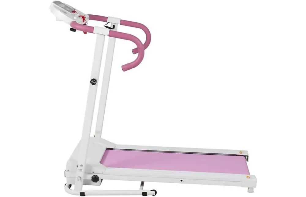 Best Choice Products Pink 500W Portable Electric Treadmill Review