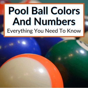 Pool Ball Colors And Numbers