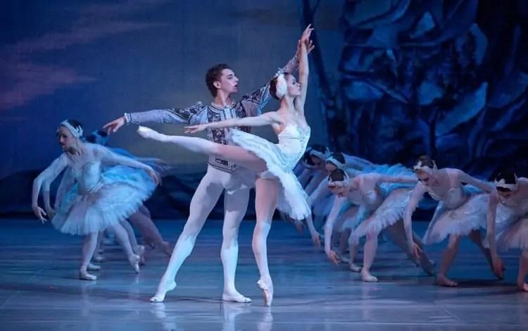 male and female dancer