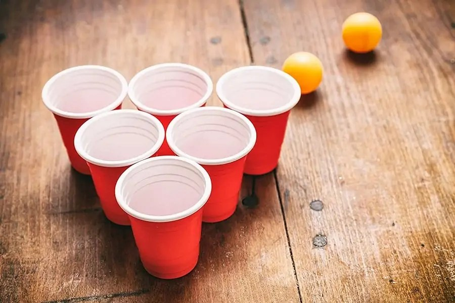 two balls in one cup rules