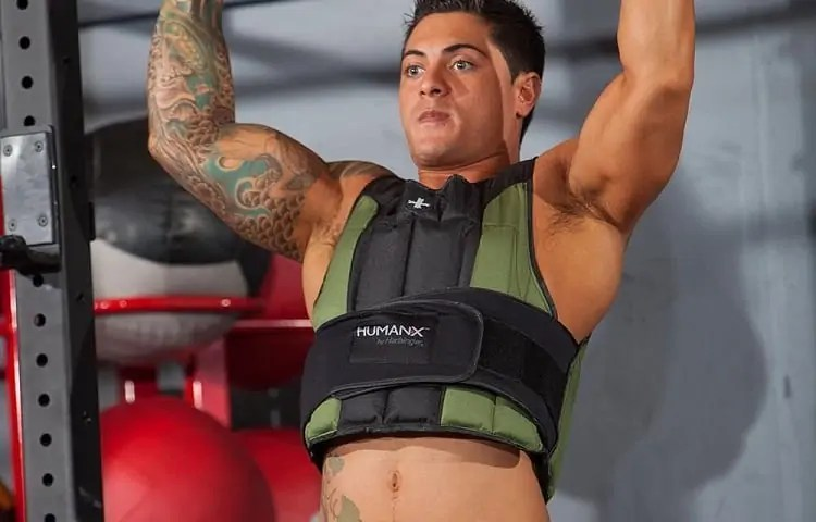 weighted vest workout itensity