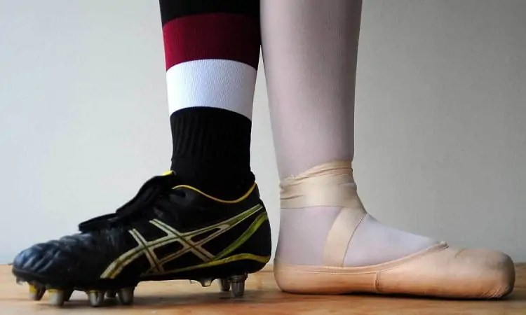 ballet training for football players