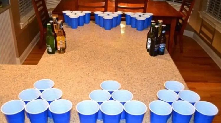 civil war beer pong game