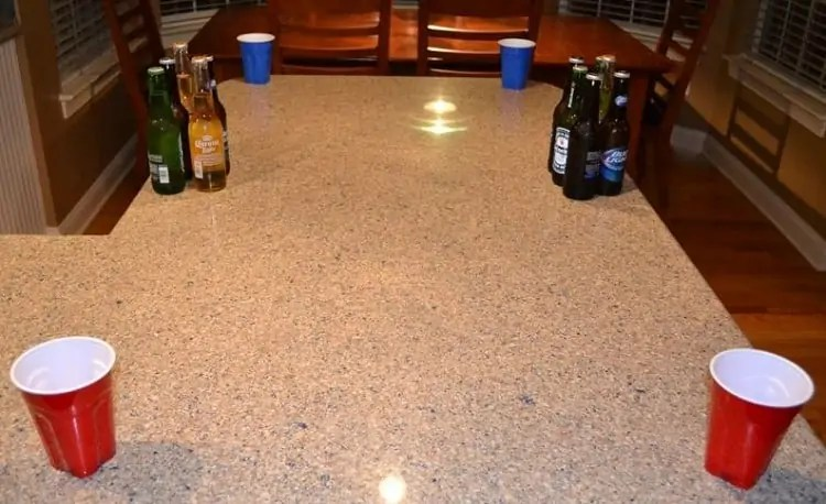 Corners Beer Pong game