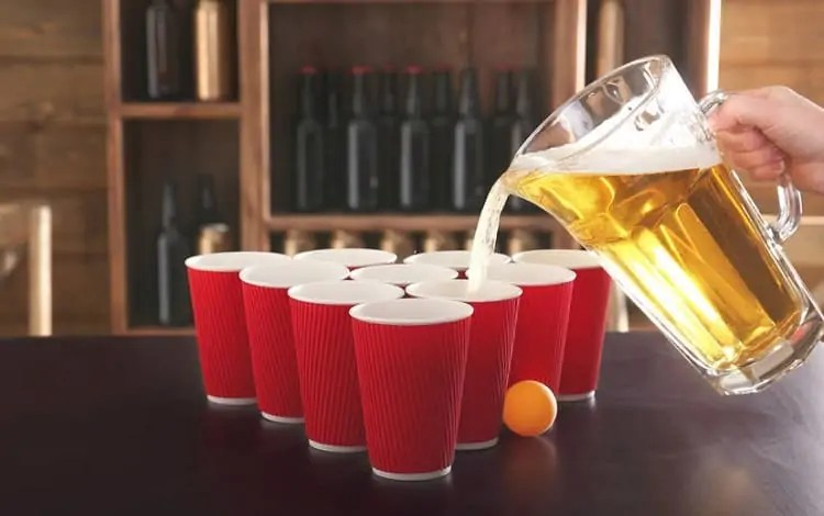best drink for playing ring of fire beer pong