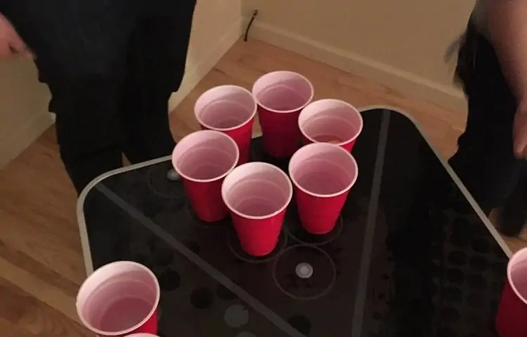 ring of fire in beer pong