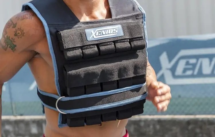 muscle tearing with weighted vest