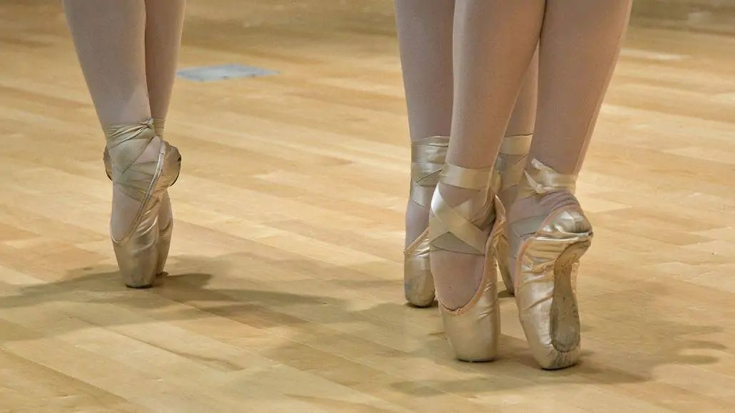 pointe shoes ballet
