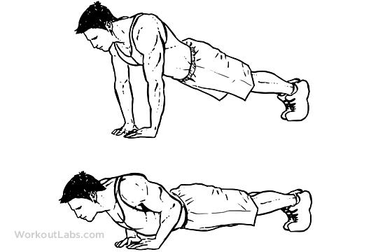 Diamond / Pyramid / Triceps Push-ups