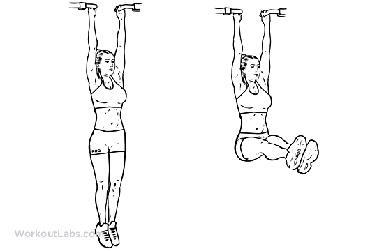 hanging leg raises for abs