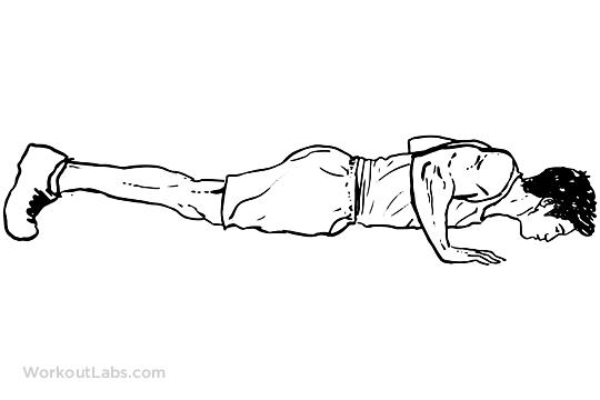 Exercise Trainer Cartoon