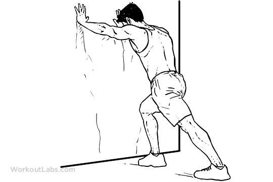 Straight-Leg Calf Stretch