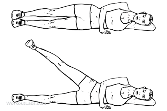 Image result for side leg lifts