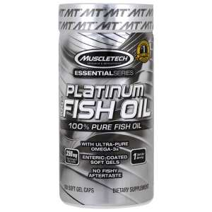 MUSCLETECH - Fish Oil (100 Softgels)