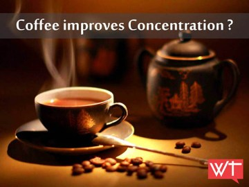 Coffee improves Concentration?