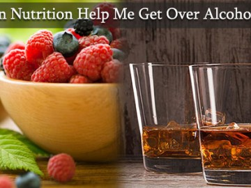 nutrition for alcohol problem