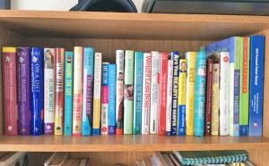 My Weight Loss Book Shelf