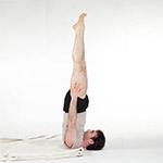 Unsupported Shoulder Stand (Niralamba Sarvangasana) thumbnail