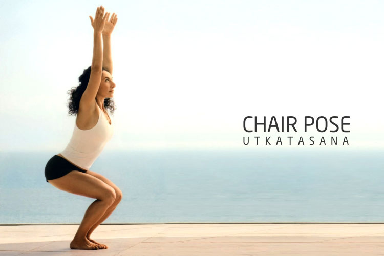 chair pose Utkatasana