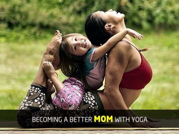 become a better mom with yoga