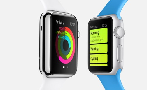 iWatch activity and workout mode