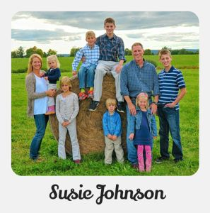 not your average mom Susie Johnson
