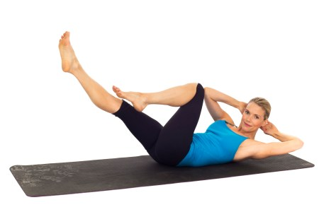 Home Workouts: Criss Cross exercise for women