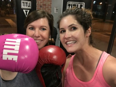 title boxing workout wanderers