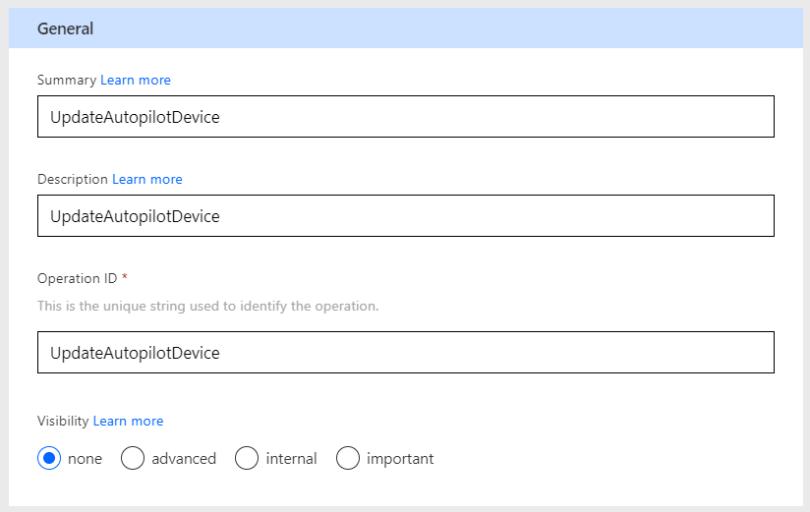 Definition - General - Update Autopilot