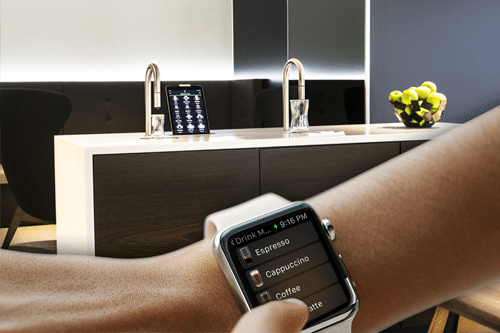 topbrewer iwatch app coffee maker
