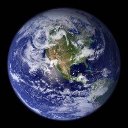 An image of the Earth to highlight climate change