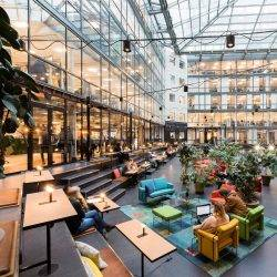 Epicenter Coworking Space in Stockholm workplace