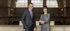 Jeffrey Sloan and Michaela Hug-Nelsen