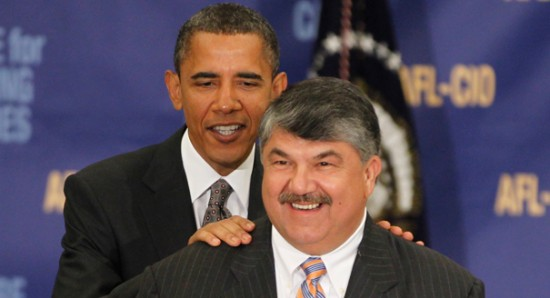 Now-Marginalized AFL-CIO Boss Gives Trump Zero Credit In Death of ObamaTrade