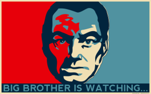 Big Brother is Watching Wide