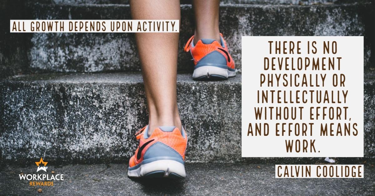 motivational quote calvin coolidge