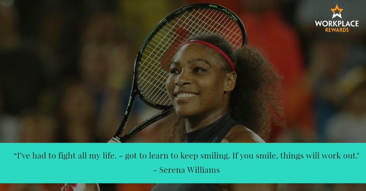 motivational quote serena williams