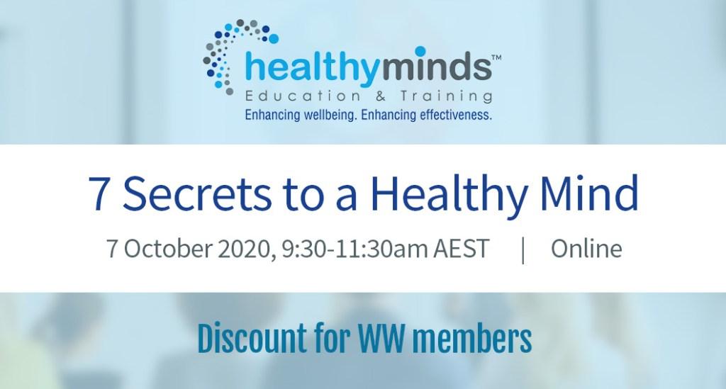 7 Secrets to a Healthy Mind