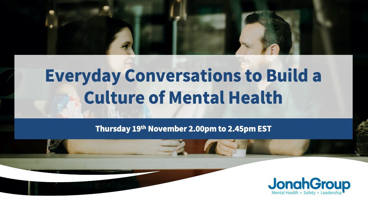 Everyday Conversations to Build a Culture of Mental Health