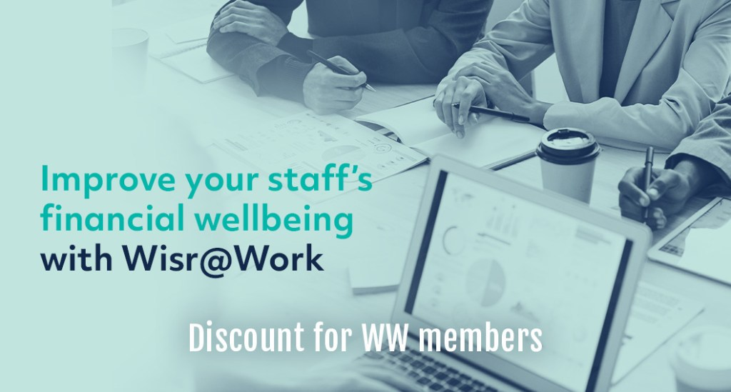 Improve your staff's financial wellbeing with Wisr@Work