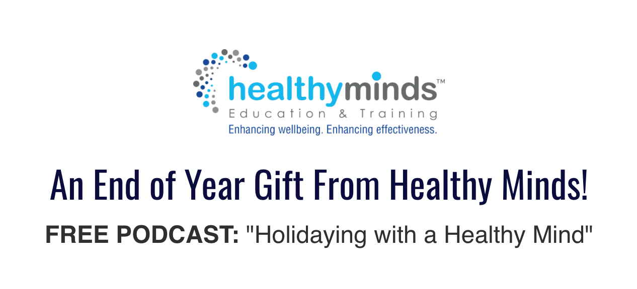 Free Podcast 'Holidaying with a Healthy Mind'