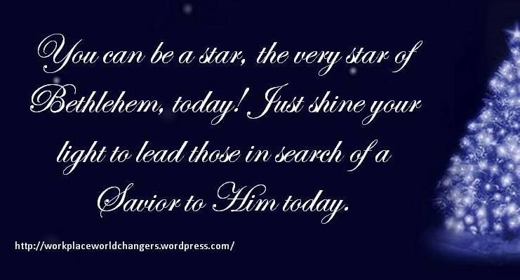 Star Of Bethlehem Workplace Worldchangers