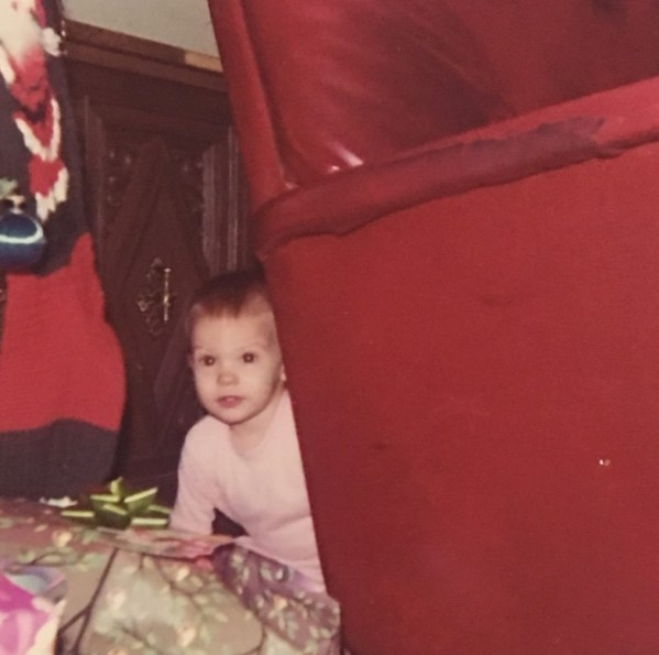 Baby Laurie Snooping